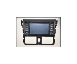 Android7.1 Quad Core 1024*600 Car DVD player GPS Navigation stere for Toyota Yaris 2014