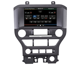 Car dvd player for Ford Mustang 2015