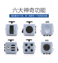 China 2017 the hot selling Finger Machine Fidget cube desk Toy fidget cube factory