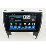 จีน Android 7.1Quad Core 1024*600 Car DVD player GPS Navigation stere for Toyota Camry 2015 โรงงาน