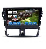 จีน Android 7.1Quad Core 1024*600 Car DVD player GPS Navigation stere for Toyota Vios โรงงาน
