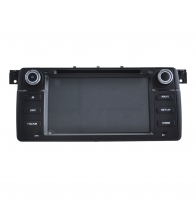 China Android 7.1 Car DVD player for BMW E46 factory