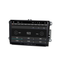 China Android7.1 Quad Core 1024*600 Car DVD player GPS Navigation stere for 9inch VW factory