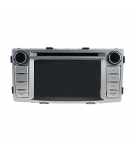 China Android 5.1.1 Quad Core 1024*600 Car DVD player GPS Navigation stere for Toyota Hilux 2012 factory