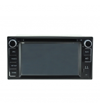 China Android 5.1.1 Quad Core 1024*600 Car DVD player GPS Navigation stere for Toyota Universal factory
