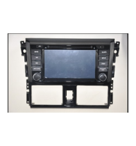 China Android 5.1.1 Quad Core 1024*600 Car DVD player GPS Navigation stere for Toyota Yaris 2014 factory