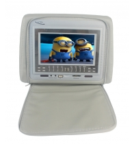 China Car Headrest DVD player with 7inch High definition  Headrest Entertainment System factory