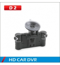 จีน for HD DUAL LENS CAR DVR D2 ST-V6 โรงงาน