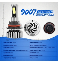 China N7-9007 Car Led Headlights factory