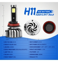 China N7-H11 Car Led Headlights factory