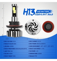 China N7-H13 Car Led Headlights factory