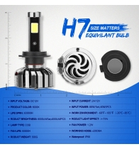 China N7-H7 Car Led Headlights factory